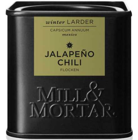 Jalapeño-chiliflingor – Mill & Mortar