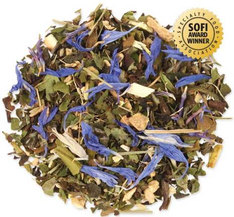 Vitt löste med exotiska smaker med kryddig ingefära och citrongräs - Tea Forté