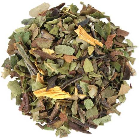 Vitt te med päronbitar – Tea Forté