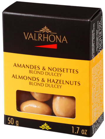Mandel och Hasselnötter Dulcey – Valrhona