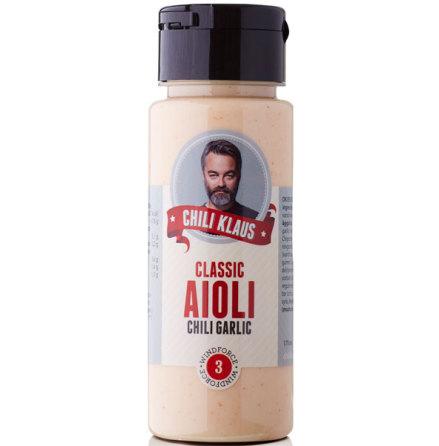 Classic Aioli Chili Garlic vindstyrka 3 - Chili Klaus