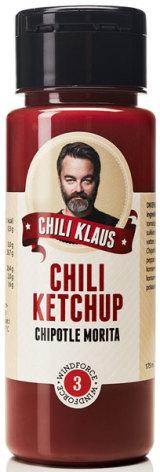 Ketchup Chipotle Morita vindstyrka 3 – Chili Klaus