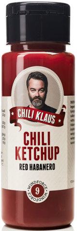 Ketchup Red Habanero vindstyrka 9 – Chili Klaus