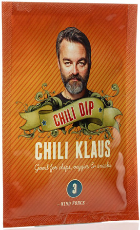 Chilidipp vindstyrka 3 – Chili Klaus