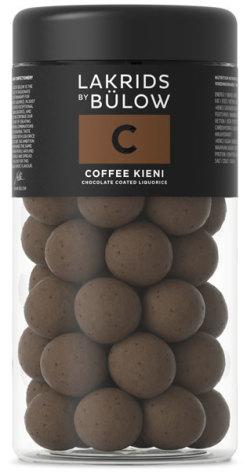 C – chokladöverdragen sötlakrits med rostade kaffebönor – Lakrids by Bülow