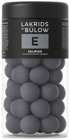 E – chokladöverdragen saltlakrits – Lakrids by Bülow