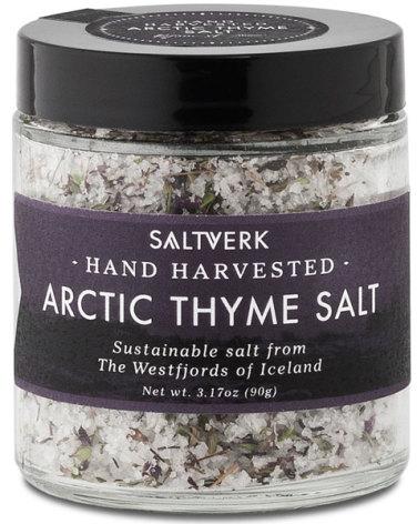 Isländskt havssalt med arktisk timjan – Saltverk