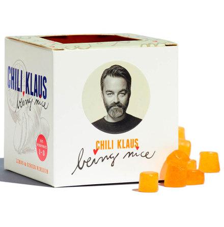 Vingummi med citron & ingefära – Chili Klaus