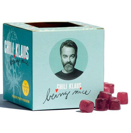 Vingummi med smak av skogsbär – Chili Klaus