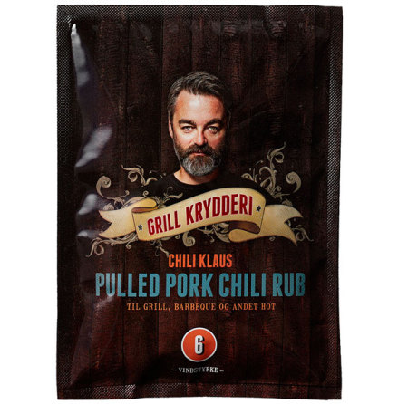 Pulled Pork Chili Rub vindstyrka 6 – Chili Klaus