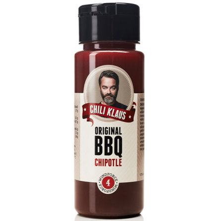 BBQ Chipotle vindstyrka 4 – Chili Klaus