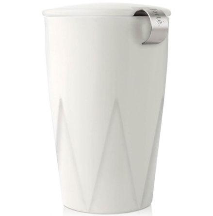 Kati Cup vit - tekopp och sil - Tea Forté
