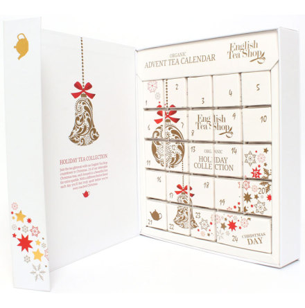 Ekologisk adventskalender med te - English Tea Shop