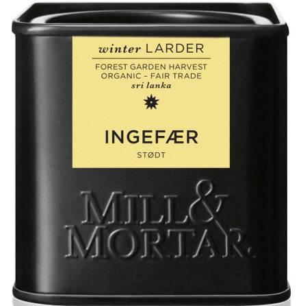 Malen ingefära – Mill & Mortar