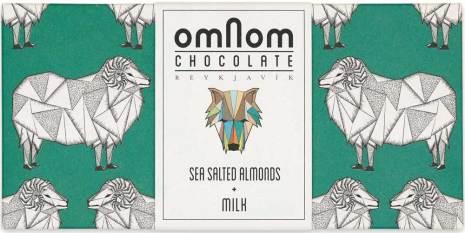 Havssaltade mandlar + mjölkchoklad – Omnom Chocolate