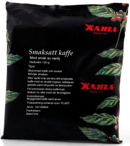 Vanilj, smaksatt kaffe - Kahls
