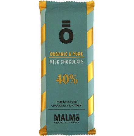 Mjölkchoklad 40 % - Malmö Chokladfabrik