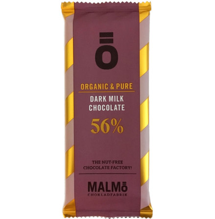 Mörk mjölkchoklad 56 % - Malmö Chokladfabrik