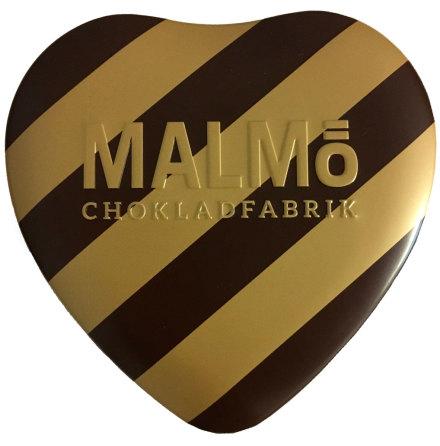 Kärlek - mörk mjölkchoklad med hallon och blåbär - Malmö Chokladfabrik