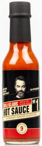 Hot Sauce No. 1 - Smoky Ghost - vindstyrke 9 – Chili Klaus