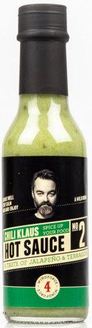 Hot Sauce No. 2 - Jalapeños & Tarragon - vindstyrke 4 – Chili Klaus
