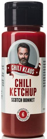 Chiliketchup Scoth Bonnet med vindstyrka 6 – Chili Klaus