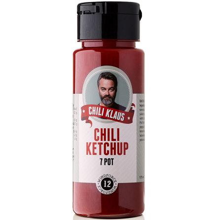 Chiliketchup 7 Pot vindstyrka 12 – Chili Klaus
