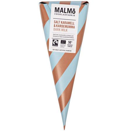 Salt karamell & kardemumma med mörk mjölkchoklad 50 % - Malmö Chokladfabrik