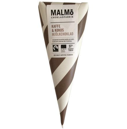Kaffe & kokos med mjölkchoklad 37 % - Malmö Chokladfabrik