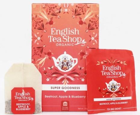 Rödbeta, äpple & blåbär, örtte - English Tea Shop