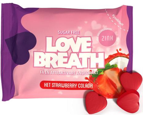 Het Strawberry colada – Love Breath