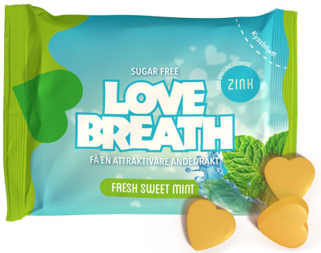 Fresh sweet mint – Love Breath