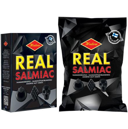 Real Salmiac – Halva lakrits