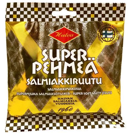 Supermjuka salmiakrutor – Halva lakrits