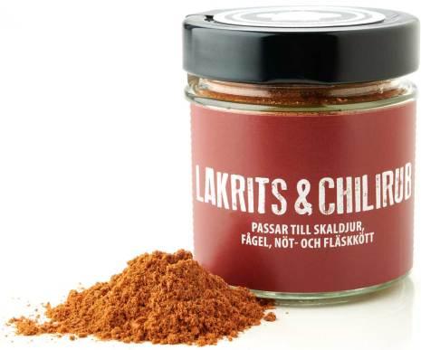 Lakrits & Chili Rub – Lakritsfabriken i Ramlösa & Lakritskocken