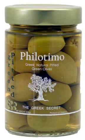 Kärnfria Halkidikioliver – Philotimo