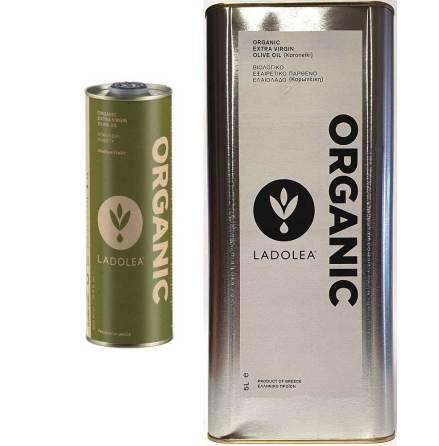 "Ekologisk Extra Virgin Olivolja ""Koroneiki"" refill/plåtburk - Ladolea"