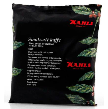 Choklad smaksatt kaffe – Kahls