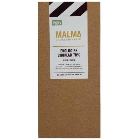 Vegansk mörk choklad 70 % - Malmö Chokladfabrik