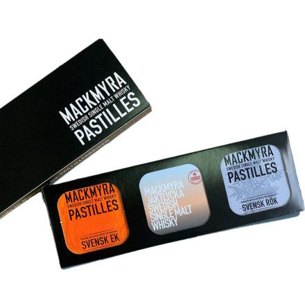 Presentförpackning – Svensk Rök, Ek och Jaktlycka - Mackmyra pastilles