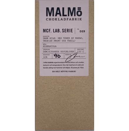 MCF Lab Serie 9: Dark Milk 60 % Conacado - Malmö Chokladfabrik