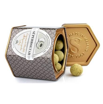 Súperboltar – lakrits, choklad med lakritspulver - Sambó Lakkris