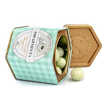 Piparminta – lakrits, choklad, pepparmynta & citron - Sambó Lakkris