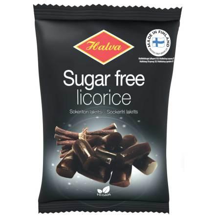 Sockerfri sötlakrits – Halva Lakrits
