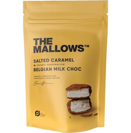 Salted Caramel – Marshmallow, saltad smörkola och belgisk mjölkchoklad – The Mallows