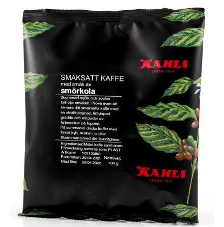 Smörkola, smaksatt kaffe – Kahls