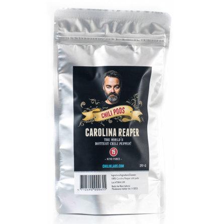 Carolina reaper torkad chili – Chili Klaus